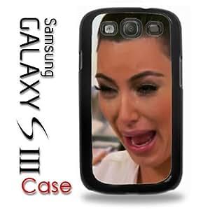 Samsung Galaxy S3 Plastic Case - Kim Kardashian Crying Hilarious Face
