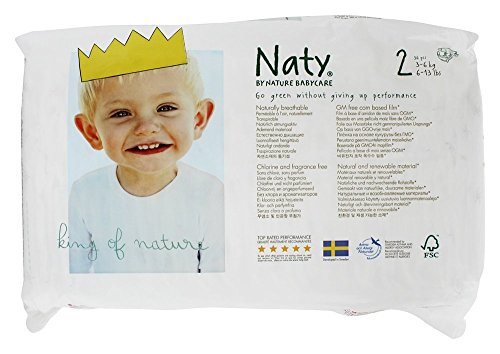 Naty Diapers - Size 2 - 34 Ct
