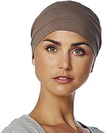 Gorro Amablis para quimioterapia 100% algodón Color Malva: Amazon.es: Ropa y accesorios
