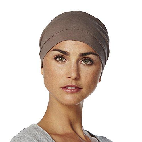 Gorro Amablis para quimioterapia 100% algodón color malva