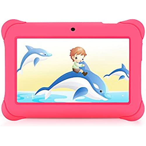 iRULU BabyPad Y1 7 Inch Android Tablet for Kids, with Games, Dual Cameras, Wi-Fi, Google Play Store, Children Coupons