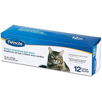 Amazon Com Petmate Large Litter Pan Liners 12 Pack Pet