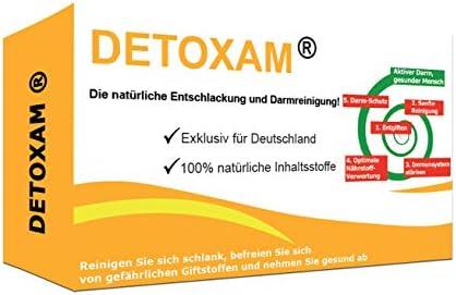 Entgiften ganz einfach: Entgiftungs-Pillen für jedermann. Wie Sie Ihren Körper entschlacken und dabei auch noch abnehmen. Detoxam 30 Kapseln. Kostenlose Lieferung