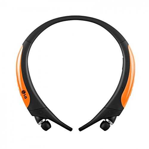 LG Electronics Tone Active Premium Wireless Stereo Headset- Orange (Certified Refurbished)