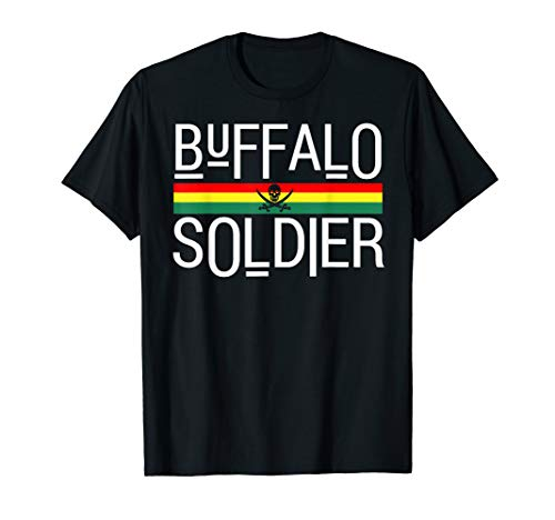 Buffalo Soldier! Rastafarian Culture T-Shirt