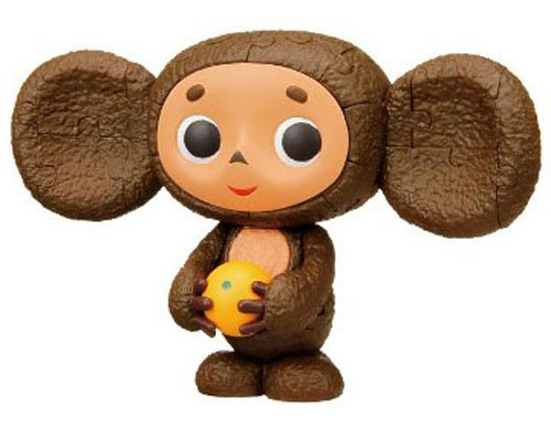 "CHEBURASHKA WITH ORANGE 3D JIGSAW PUZZLE 3"". LIMITED EDITION. JAPAN IMPORT by ENSKY CO.LTD"