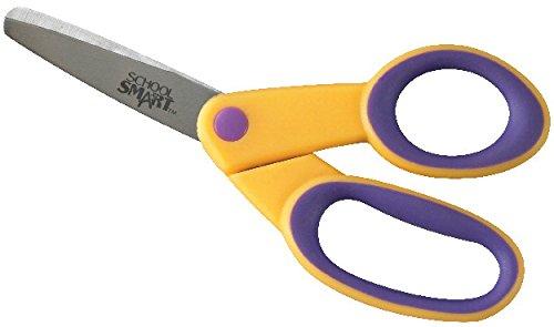 School Smart Blunt Tip Kids Scissors, 5 Inches