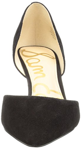 Suede Tacco con Sam Telsa Edelman Black Scarpe Nero Donna It8v8qw