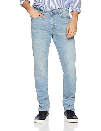 Goodthreads Men's Straight-Fit Jean, Light Blue, 40W x 36L ()