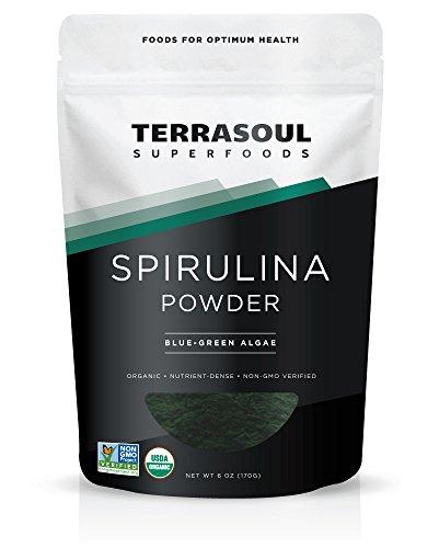 Terrasoul Superfoods Spirulina Powder
