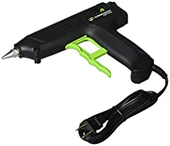Surebonder Professional Full Size High Temperature Glue Gun is best suited for light duty industrial and packaging applications. Professional high temperature glue gun comes with a removable wire stand and has 80 watts of heating power. It gi...