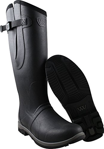 Woof Wear Wear Wellington Black Riding Wellington Woof Riding 5x817wqI