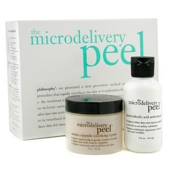The Microdelivery Peel: Lactic/Salicylic Acid Activation Gel + Vitamin C Resurfacing Crystal