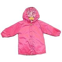 Frenchie Mini Couture Pink Princess Reversible Rain Coat
