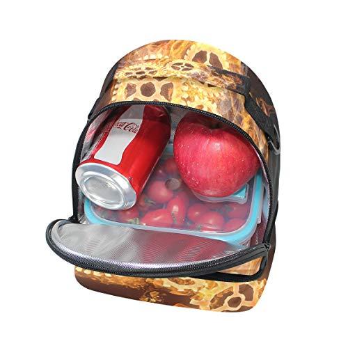 hombro de ajustable para la para térmica para Bolsa pincnic el almuerzo FOLPPLY correa escuela con zw8RxAnOq