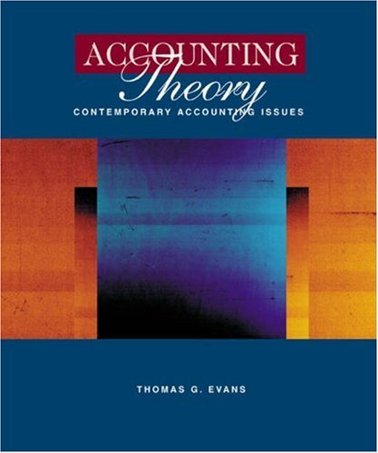 Accounting Theory:Contemp.Acct.Issues