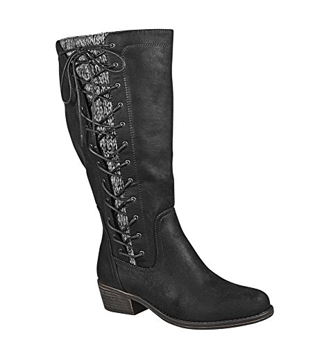 Side Lace Boot - 1