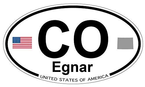 Egnar, Colorado Oval Sticker