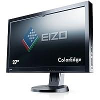 Eizo 27 Coloredge CX270-BK TFT-LCD Monitor, 350 cd/m2 Brightness, 1000:1 Contrast Ratio, 2560x1440 Native Resolution