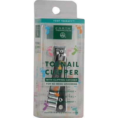 Earth Therapeutics Toe Nail Clipper W/Catchr Ct by Earth Therapeutics
