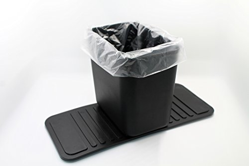 Meistar Auto Garbage Can Car Trash Bin Waste Container Plastic Black WITH 20 FREE DISPOSABLE BAGS!!! Product Dimensions: 3.9'' x 5.9'' x 5.5''. Base: 11'' x 5''