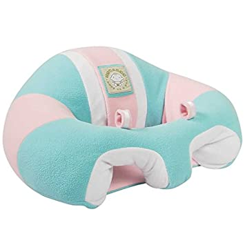 Hugaboo Infant Support Seat Fleece Cotton Candy, Pink/Aqua/Light Blue, 3-14 Months 855080004079