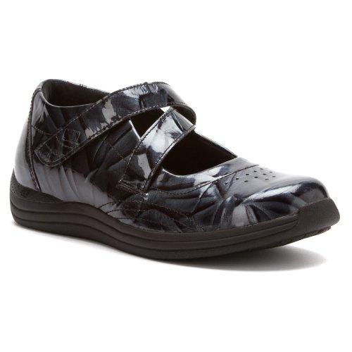 Drew Shoe Mujeres Orchid Hook Y Loop Blue Marble