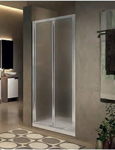 Mampara de ducha plegable lunes 2.0 S en cristal transparente de 6 mm: Amazon.es: Bricolaje y herramientas