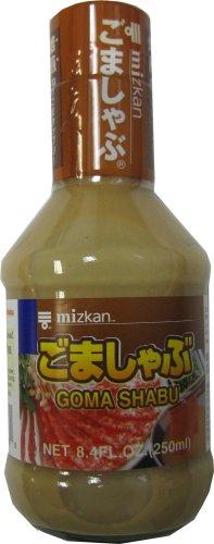 Mizkan Dipping Sauce For Shabu-Shabu Sesame Flavor - Goma Shabu , Net Wt 8.4 Fl Oz (1 Bottle)