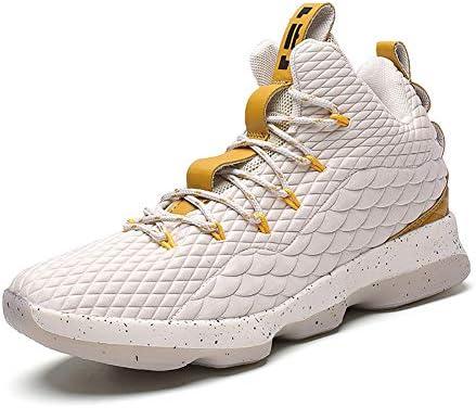 バスケットシューズ メンズ ハイカットスニーカー ランニング フィットネスシューズ 滑り止め スポーツシューズ 耐久性の快適で 運動靴 高校生 人気 プレゼント