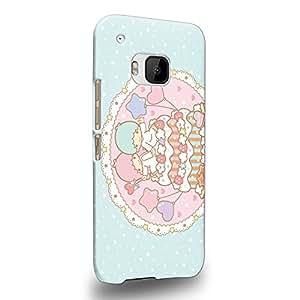 Case88 Premium Designs Little Twin Star Kiki And Lala Dreamy Diary 1330 Carcasa/Funda dura para el HTC One M9