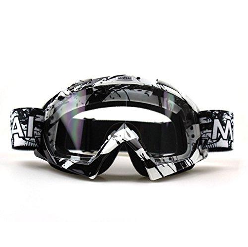 Off X495 PC Gafas e de Impermeable Prueba A 2White a Prueba Parabrisas Descenso Road de Polvo Esquí explosiones qHaEBw