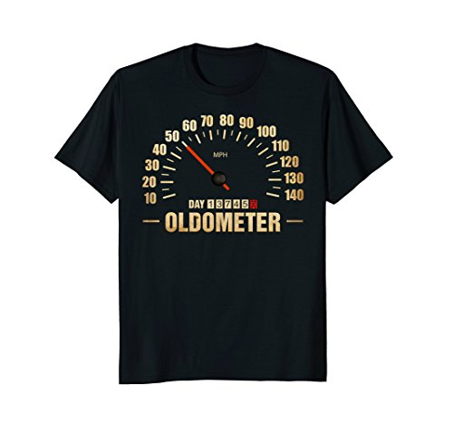 OLDOMETER 50 T-Shirt 50th Years Old Funny ()