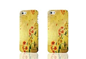 Bashful Red Floweret Photo Hard 3D Rough Case , Fashion Image Case Diy, Personalized Custom Durable 3d Case For iPhone 4 & iPhone 4S