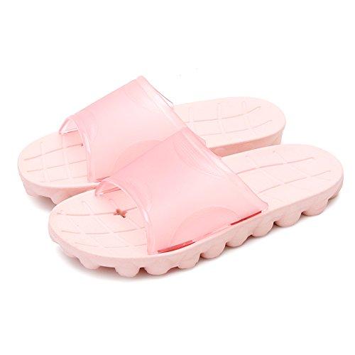 antiscivolo da DogHaccd in di pantofole da dimensioni Codice Un acqua home di Rosa bagno paio grandi ciabatte bagno plastica pantofole un cool estate ha chiaro1 vasca uomini 0aawnx6