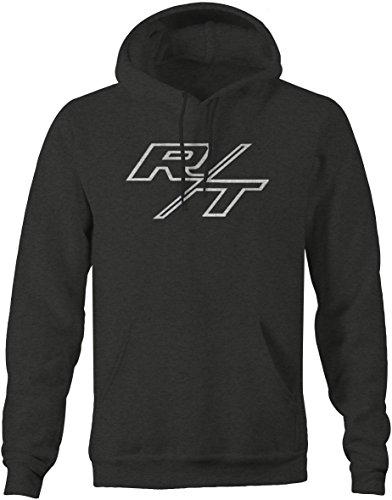 R/T RT Dodge Mopar Charger Challenger Hemi V8 Muscle Car Logo Sweatshirt -Medium ()