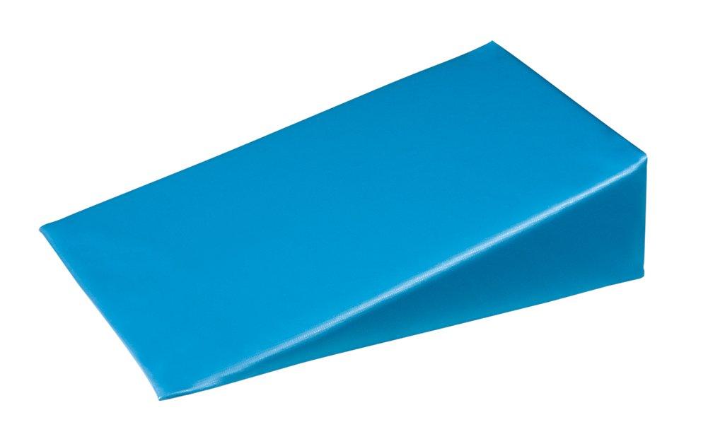 "20 Degree Positioning Wedge, Upholstered Blue Vinyl, 7""L"