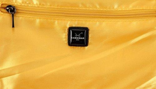 Sansibar Calima - Bolso de hombro de material sintético mujer amarillo - Gelb (yellow)