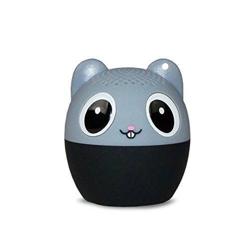 My Audio Pet (Gen 1) Mini Bluetooth Animal Wireless Speaker with Powerful Rich Room-Filling Sound - 3W Audio Driver - Remote Selfie Function - for iPhone/iPad/iPod/Samsung/HTC/Tablets - MEGA Mouse