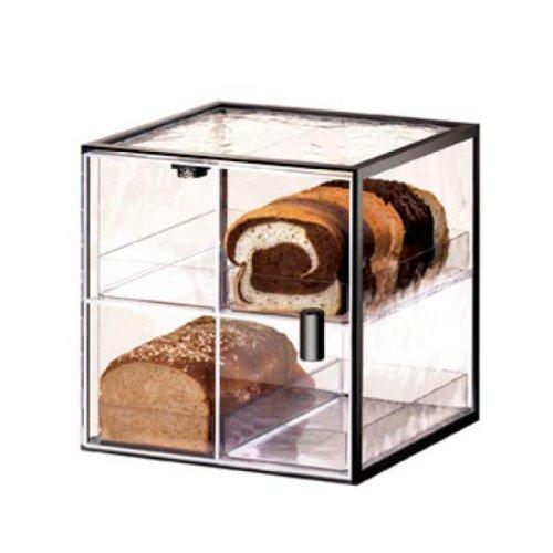 - Cal-Mil Plastic Bread Case 4-tier 13'' x 12-1/2'' x 13'' Wire 1720-4