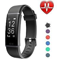LETSCOM Fitness Tracker, Activity Tracker Heart Rate...