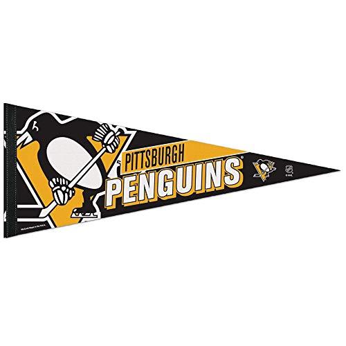 (WinCraft NHL 65849014 Pittsburgh Penguins Premium Pennant, 12