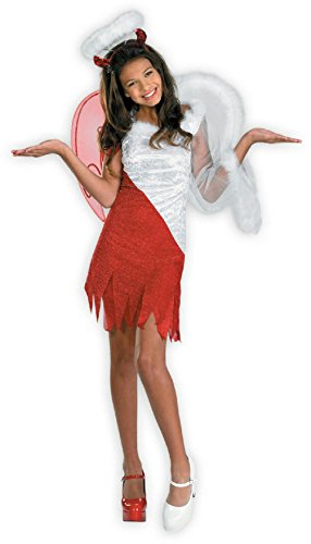 Heavenly Devil Child Costume (Heavenly Devil Girls Costume Size Medium 7-8)