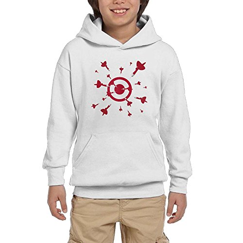 Cheap Darts Youth Pullover Hoodies Fashion Pockets Sweaters supplier