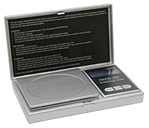US Balance ACE 100 x 0.01g Grams Digital Grain Scale Grain Coin Scales in Silver