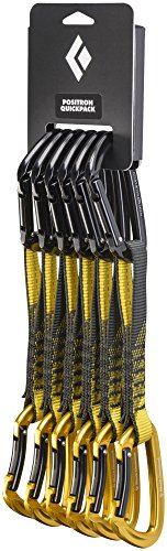 Black Diamond Positron Quickpack - Set of 6 Quickdraws 18cm by Black Diamond