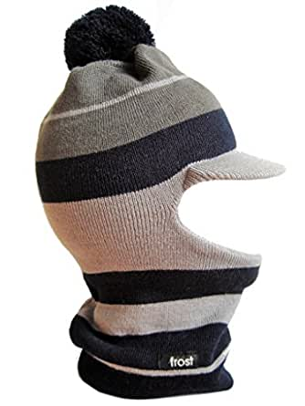 Amazon.com: Frost Hats Winter Boy's GRAY Hat Balaclava
