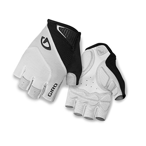Giro Monaco Bike Glove - White/Black Medium by Giro