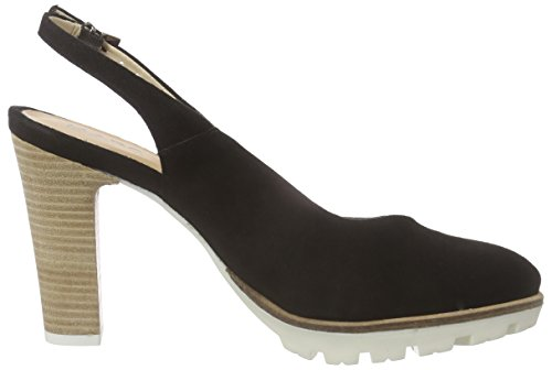 Marc Shoes Shakira Damen Slingback Schwarz (black 100)