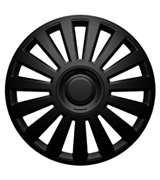 Hubcap Wheel Cover Luxury Universal Wheel Trim Black 16 Inch for Seat Alhambra / Altea /